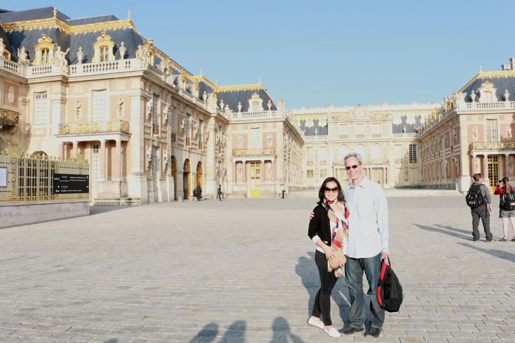 JE at Versailles