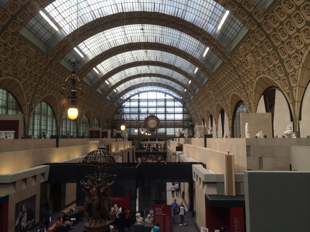 inside Musee' du Orsay