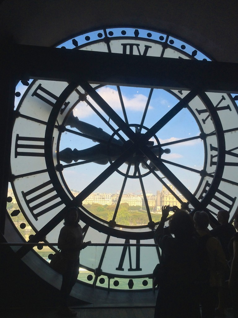 The Musee' du Orsay in Paris