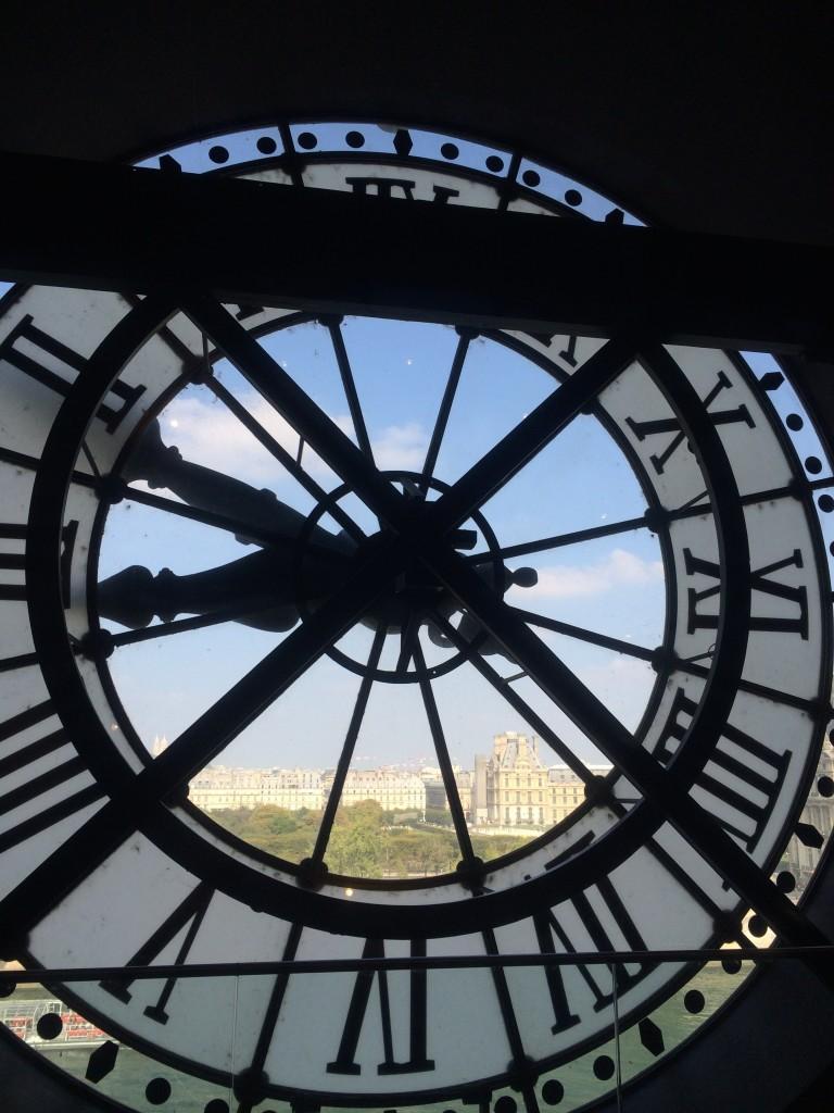Musee' du Orsay clock