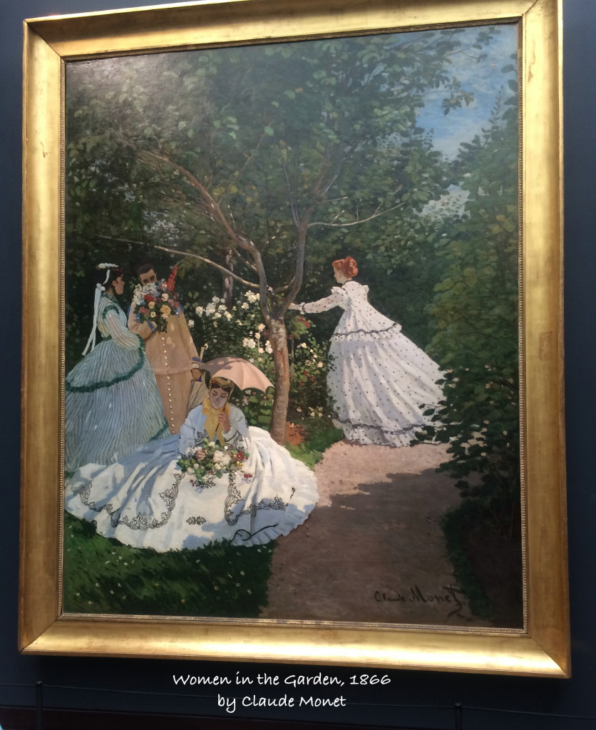Women in the Garden by Monet