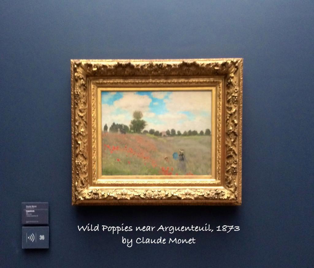 Wild Poppies by Monet
