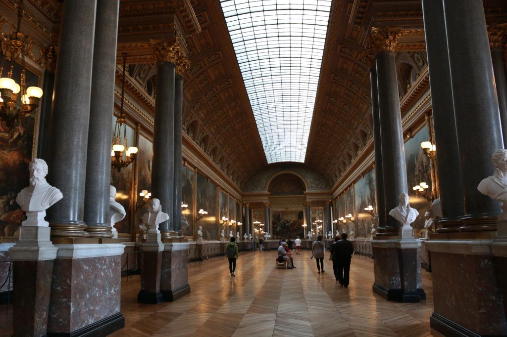 Hall of Battles in Versailles