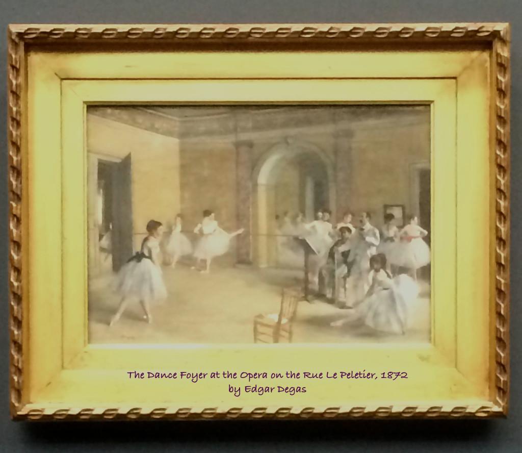 Edgar Degas' painting
