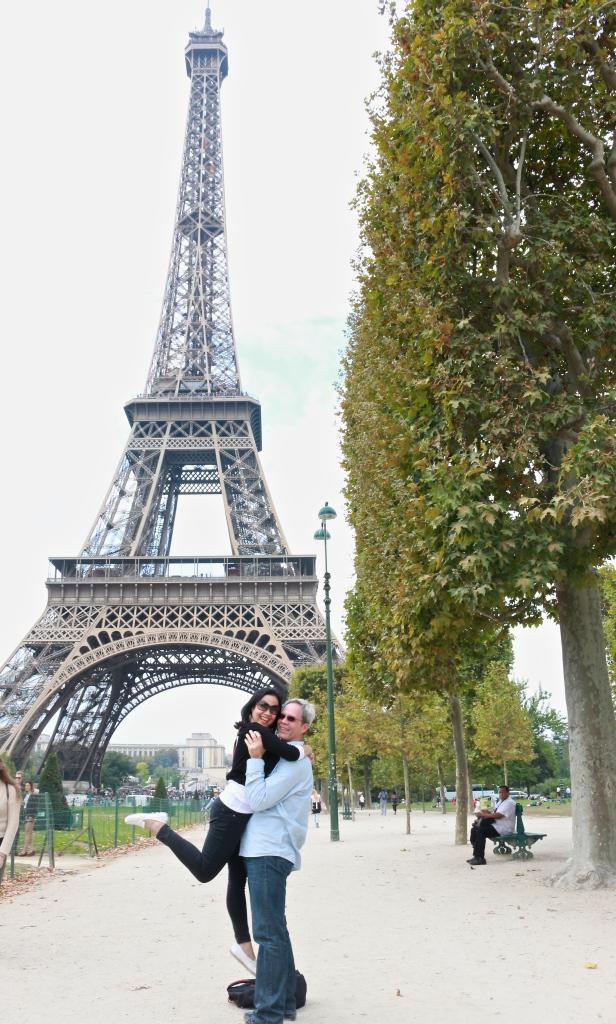 Fun at the Eiffel Tower