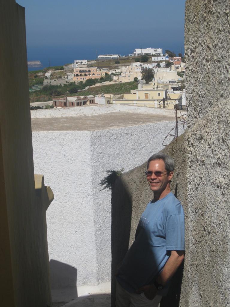 J in Santorini