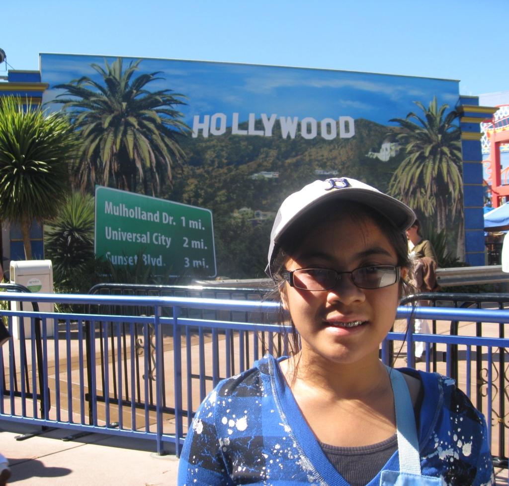 L in Universal Studios