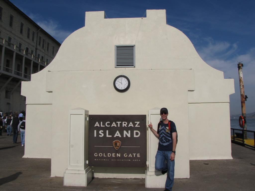 Joe in Alcatraz