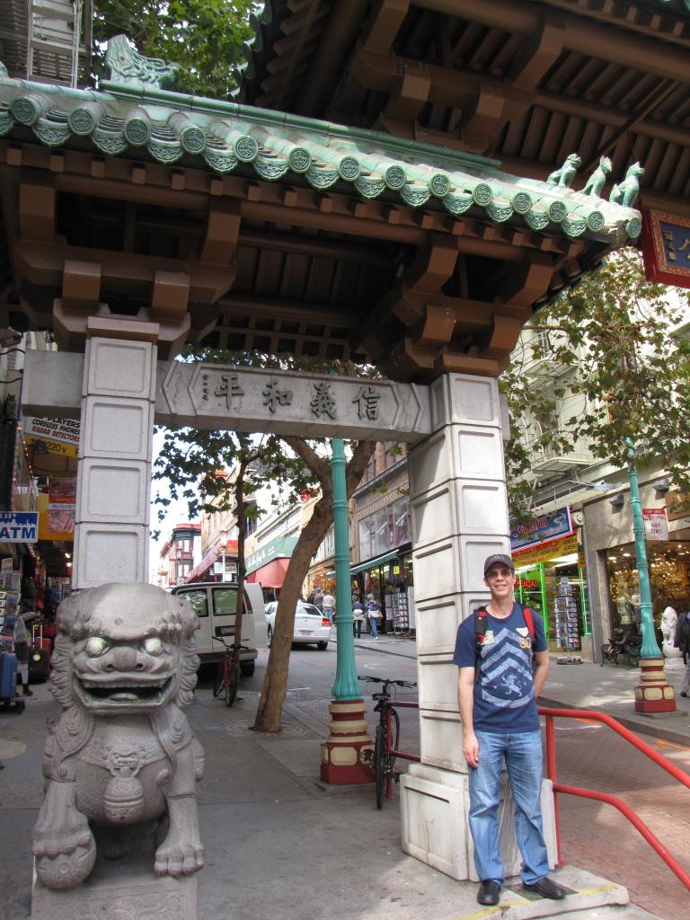 Joe in Chinatown
