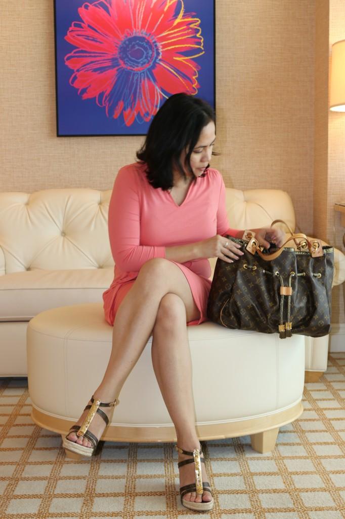 Louis Vuitton wedge shoes