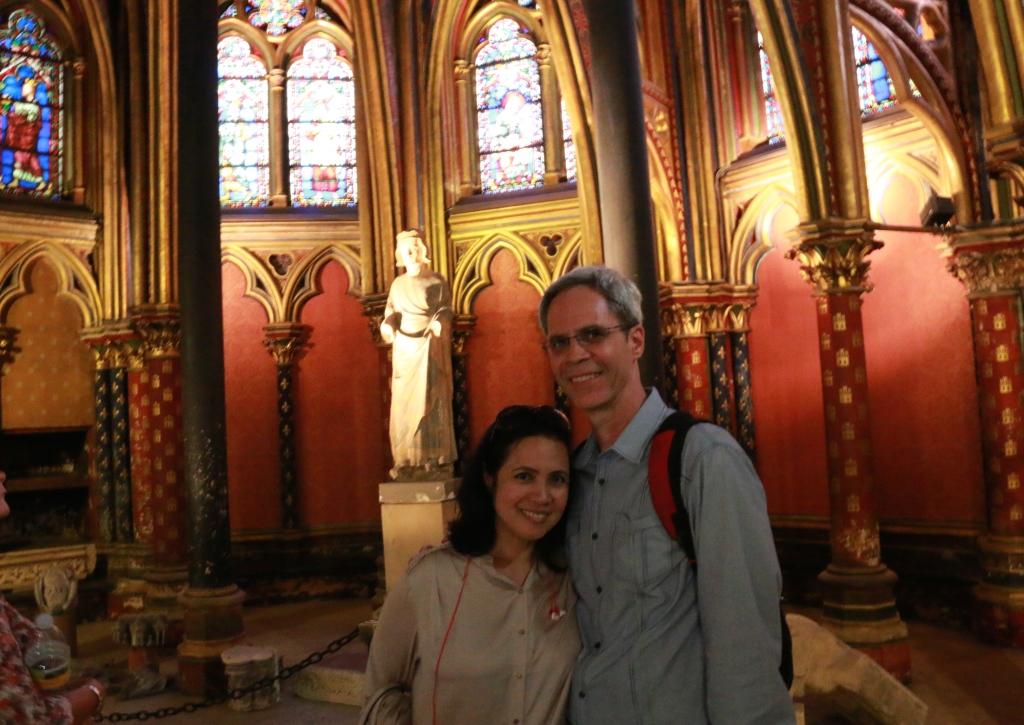 JE in Sainte-Chapelle