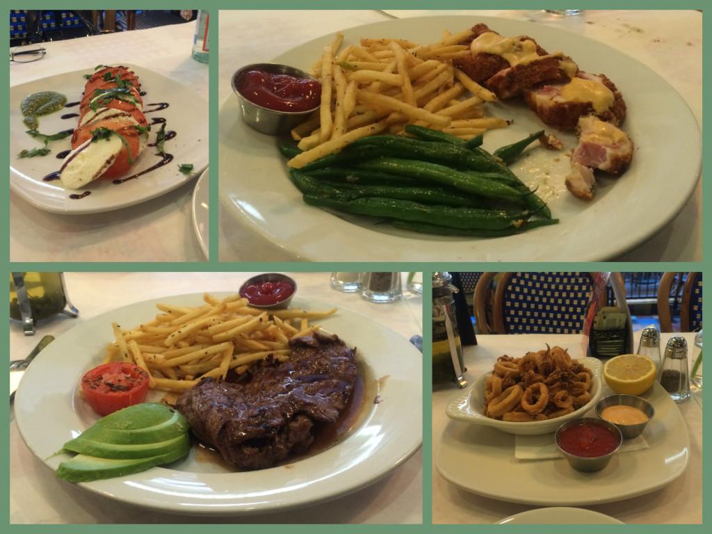 Dinner at Cafe Beau Soleil