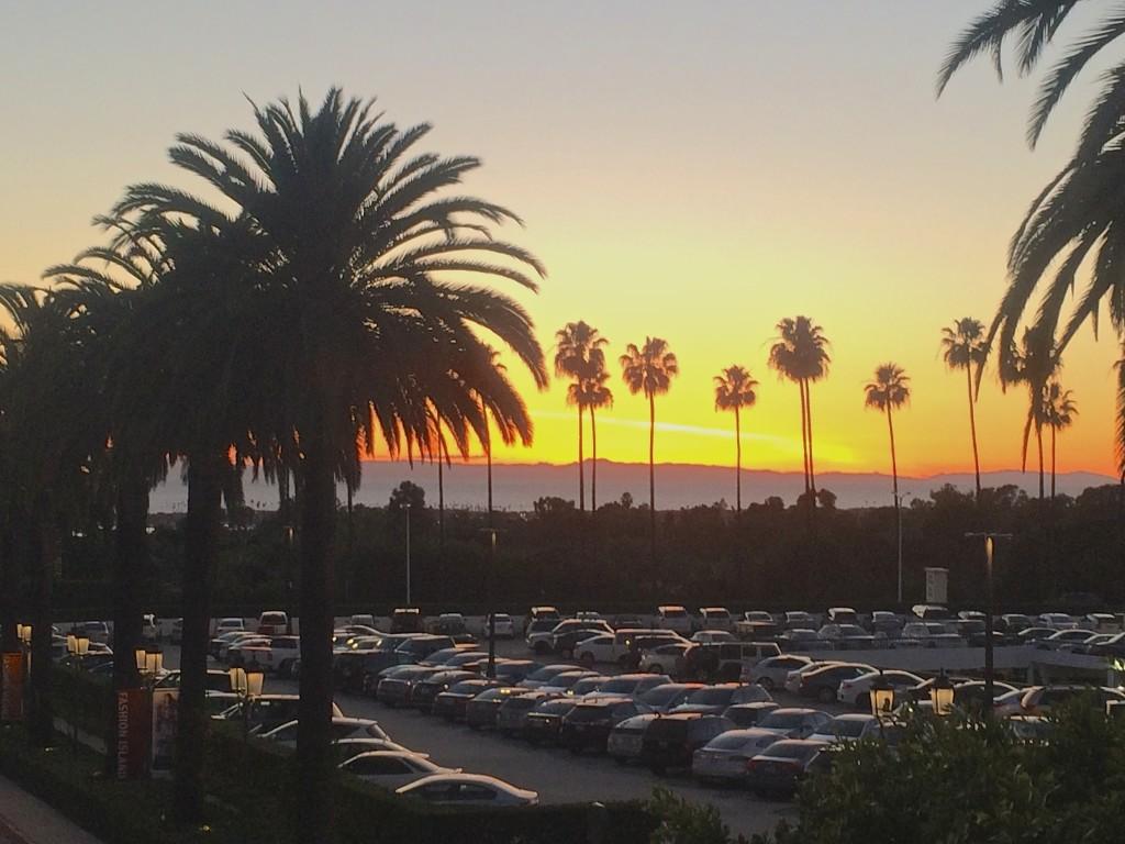 Sunset in Newport Beach