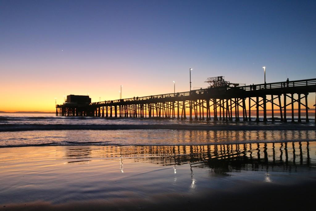 Newport Pier @ sunset