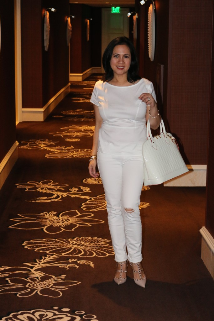 White + Blush