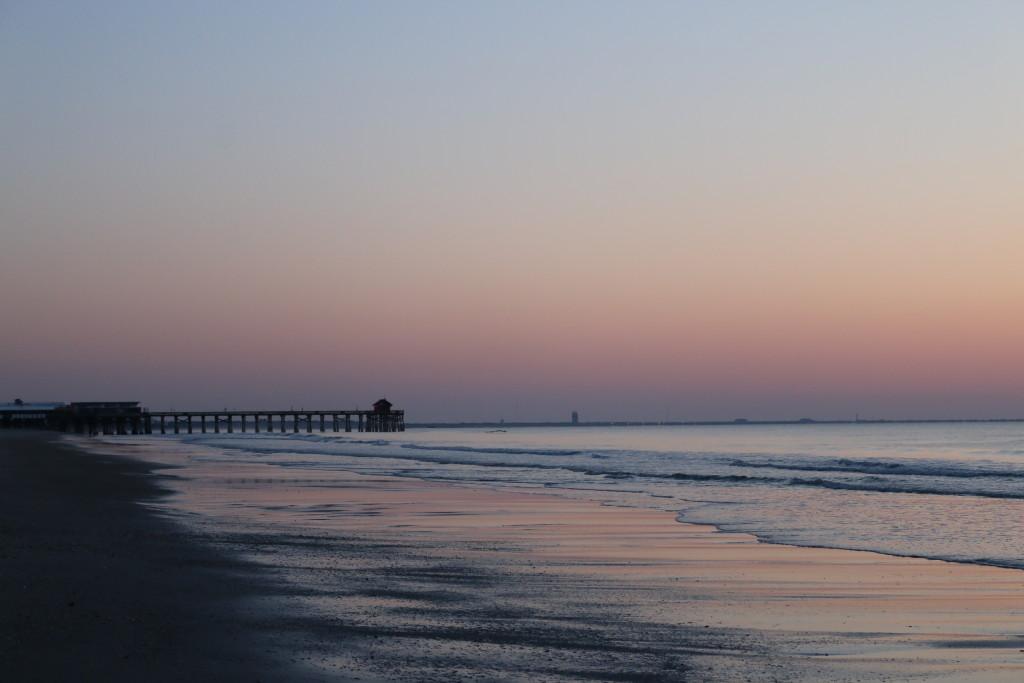 Cocoa Beach Pier 2 sunrise
