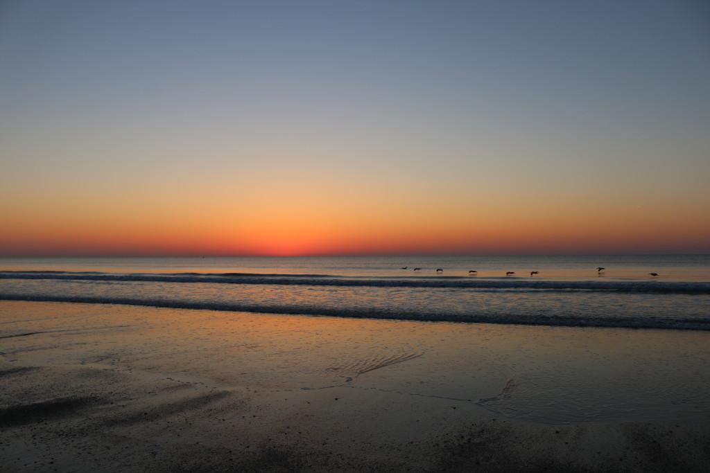 it's almost sunrise