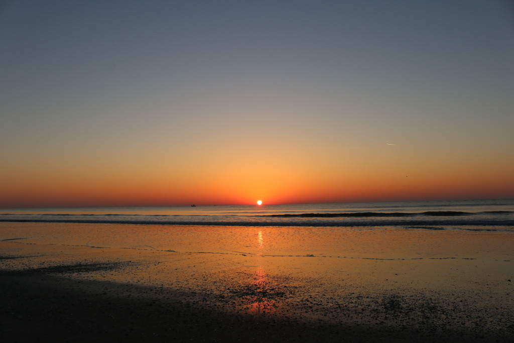 I love watching the sunrise