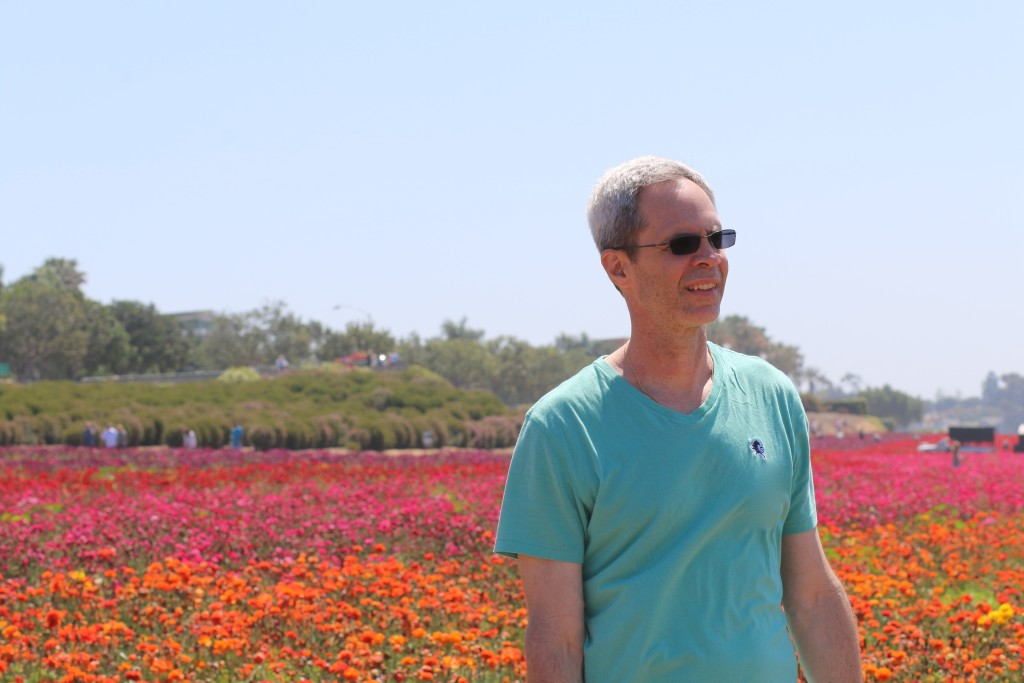 J at the flower fields