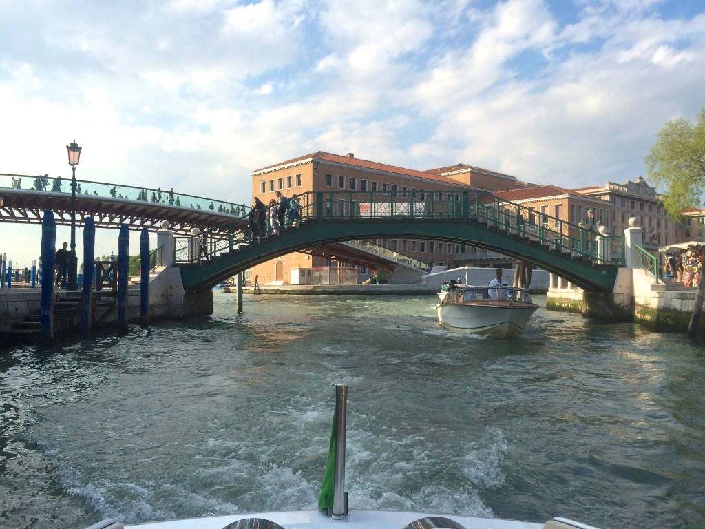 Our 1st day in Venice
