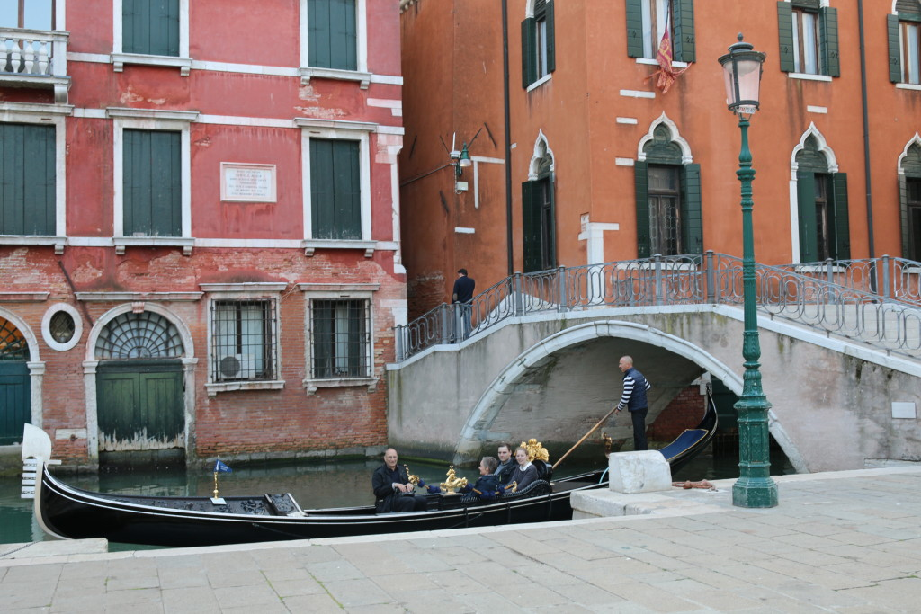 Enjoying the view in Venice