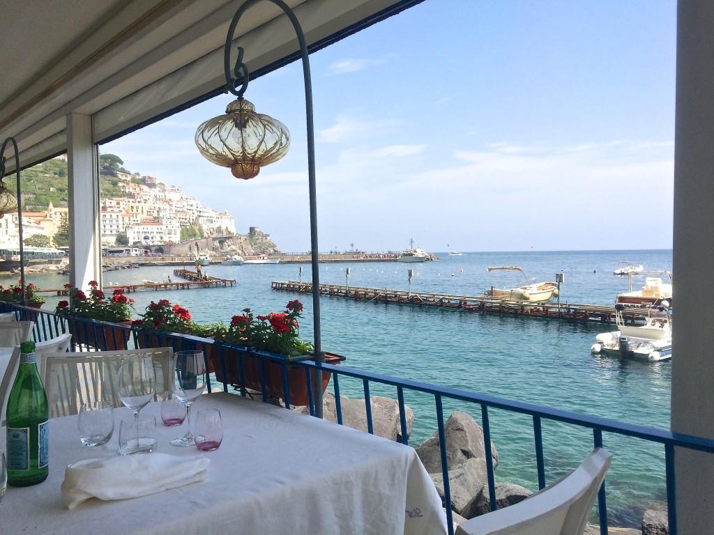 Lido Azzurro Restaurant in Amalfi