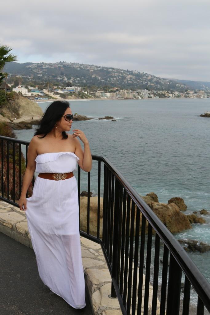 Enjoying the breeze in Laguna Beach