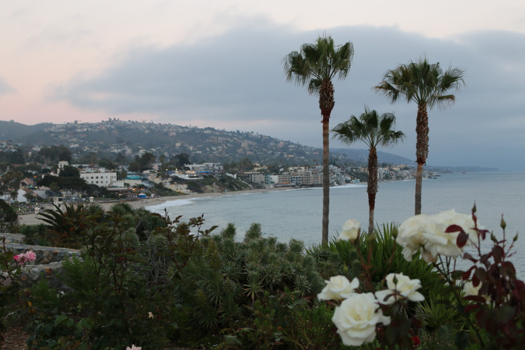 The view in Laguna Beach