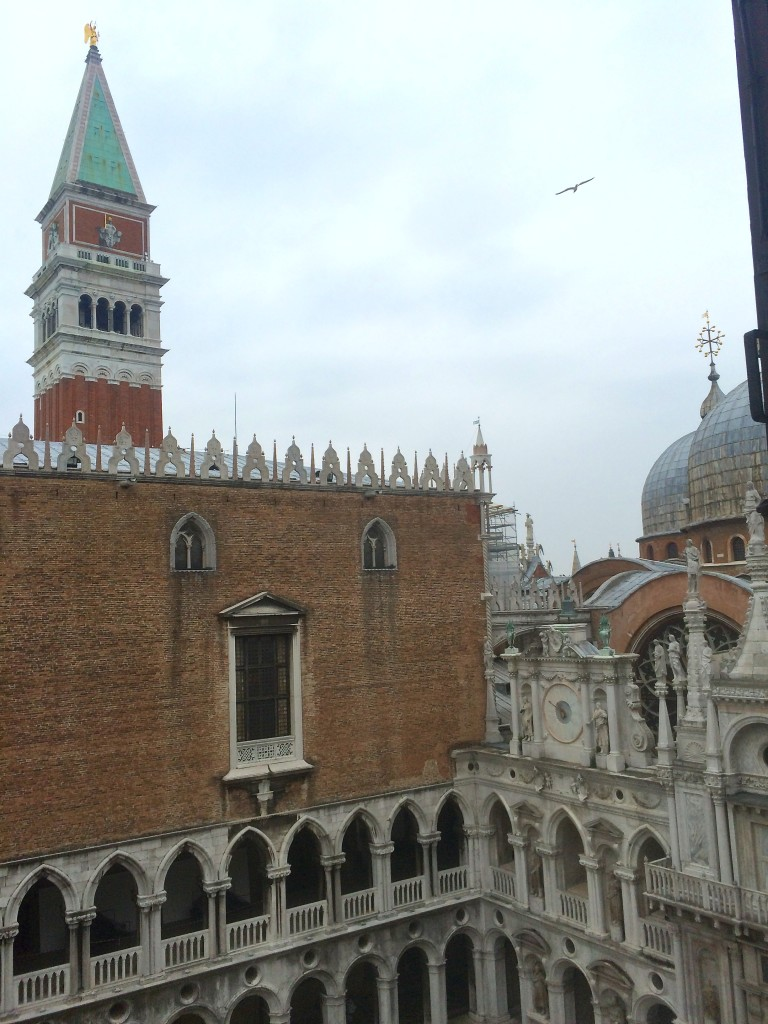 The Tower view from Doge's Palace