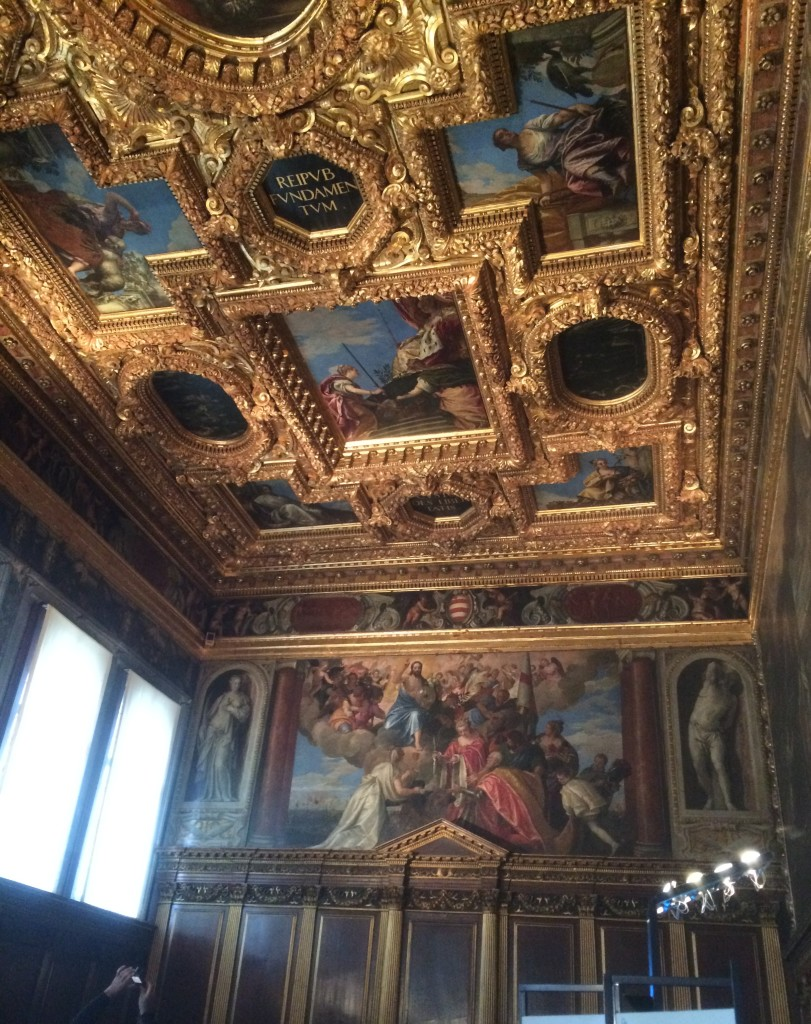 Tintoretto's awesome ceiling fresco