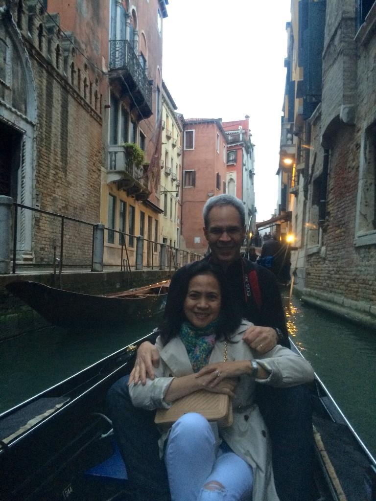 JE's gondola ride