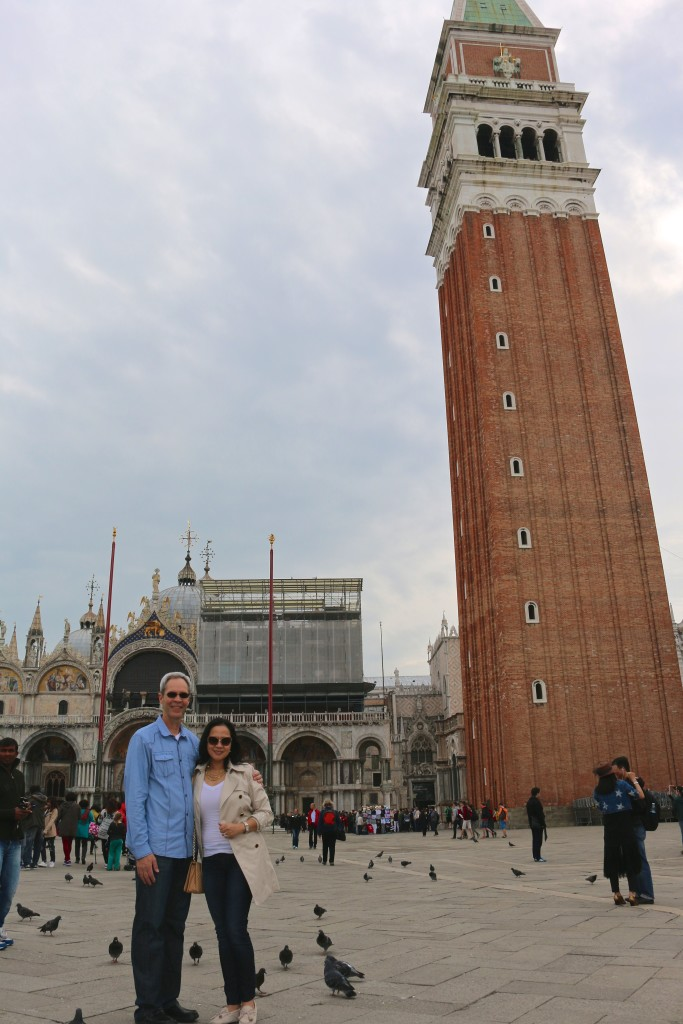 JE in St. Mark's Square