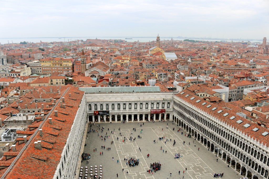 St. Mark's Square - view from the tower