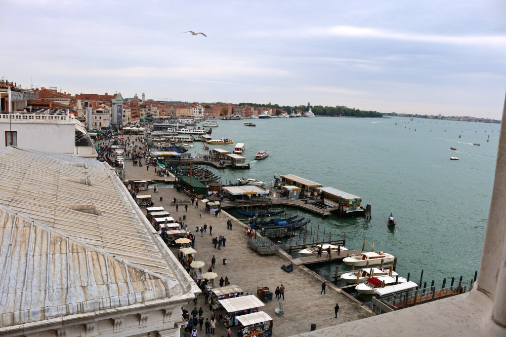 The View of Venice from the tower