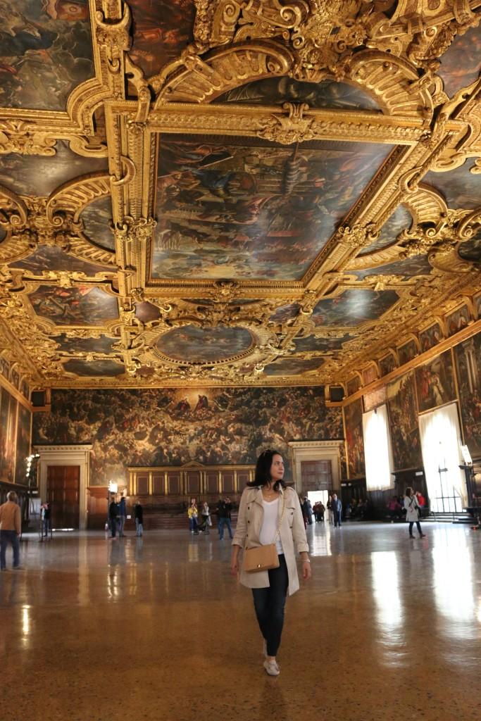 Tintoretto's Frescoe