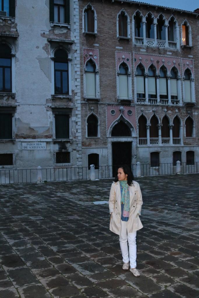 E in Venice
