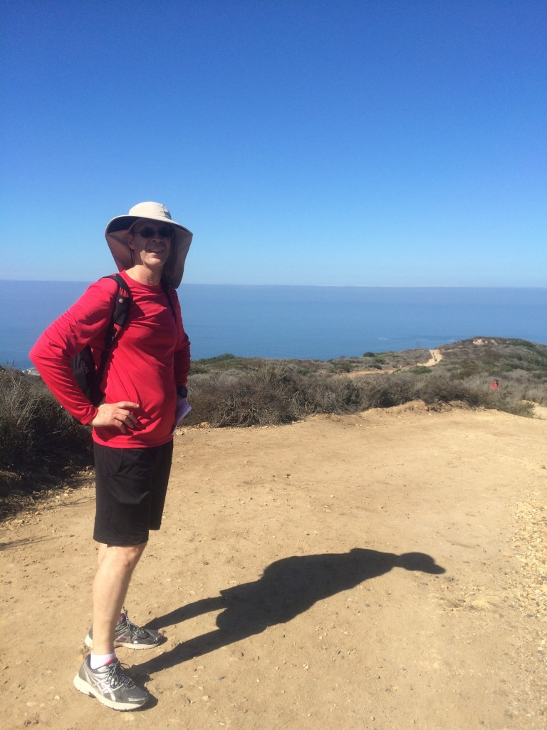Hiking in Crystal Cove State Park