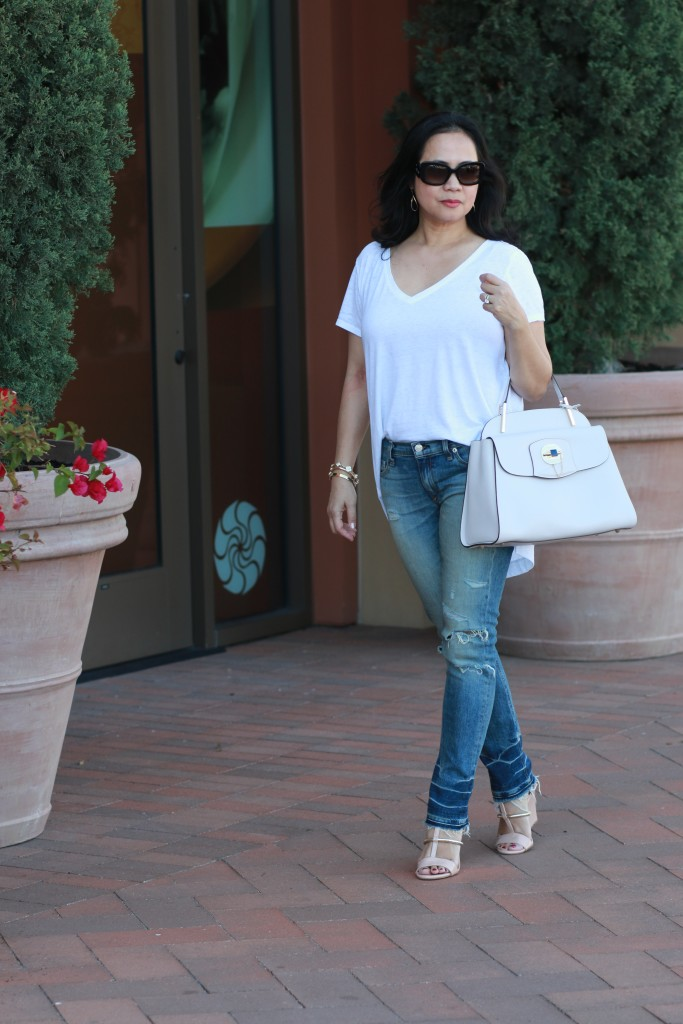 Blush Cromia handbag