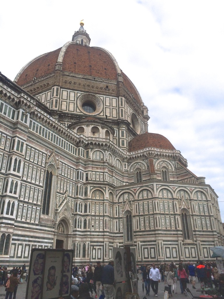 Cattedrale di Santa Maria del Fiore was so long, we decided to skip it.