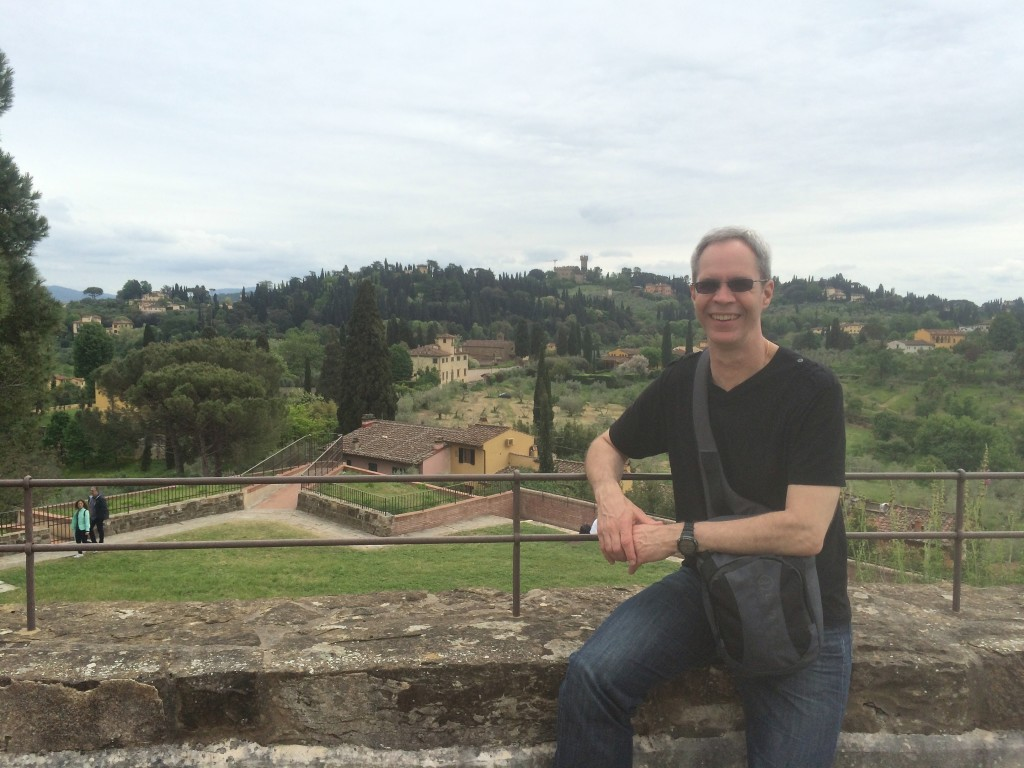 Having a great time in Florence
