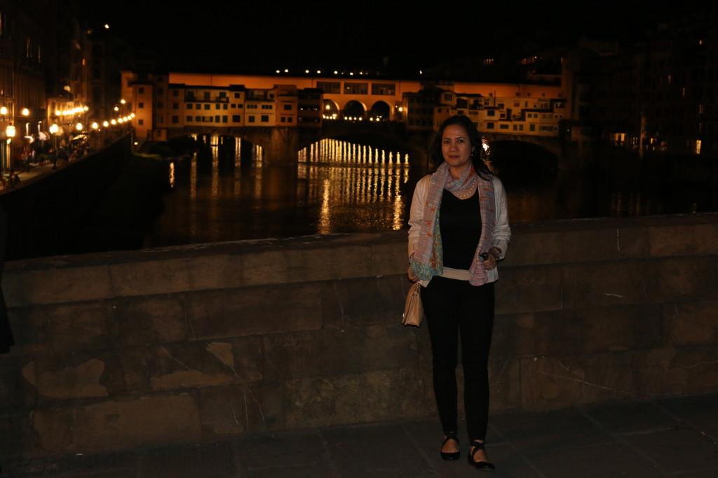 E @ the Ponte Vecchio