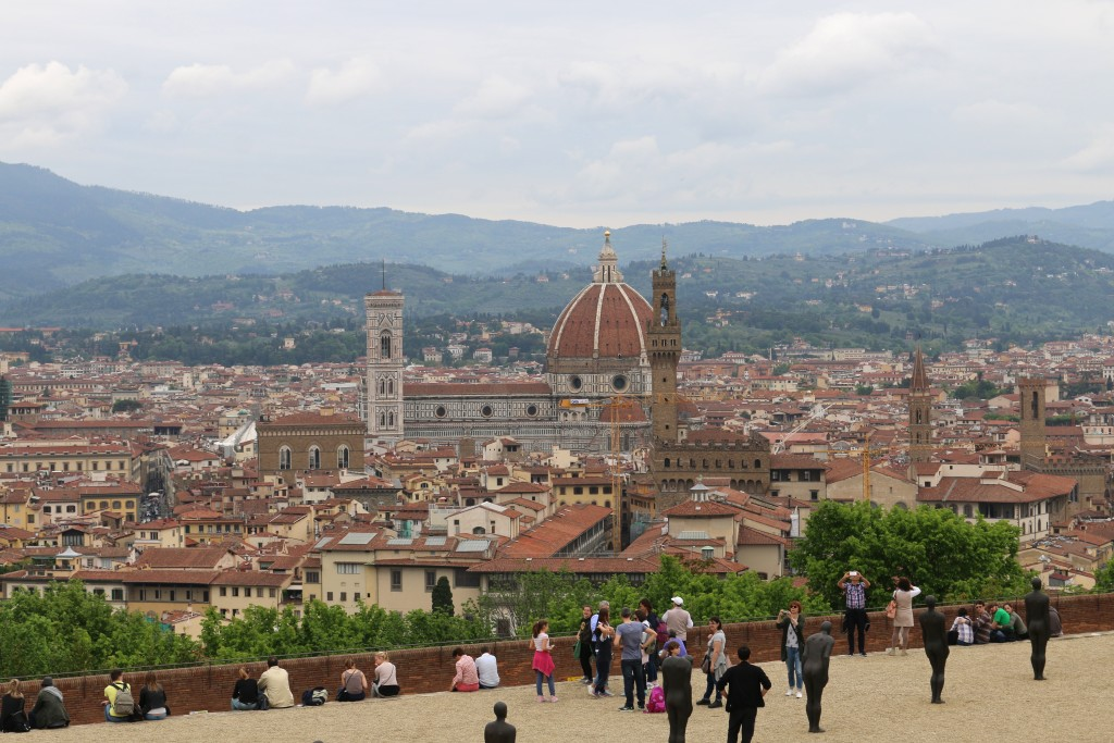 That view though...of Florence