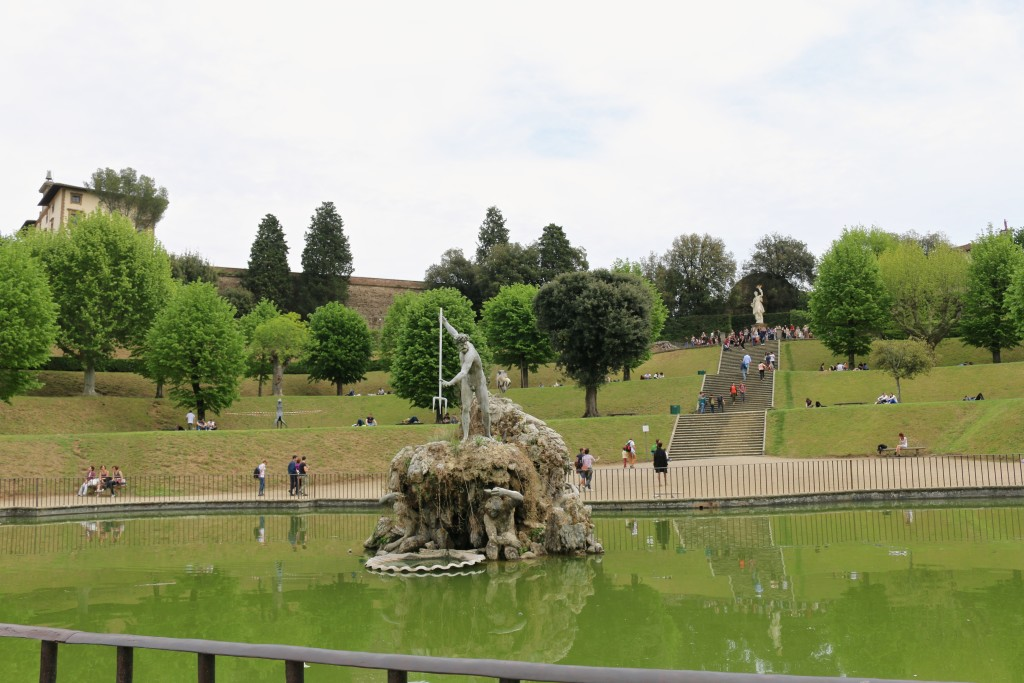 The fountain @ Boboli Gardens