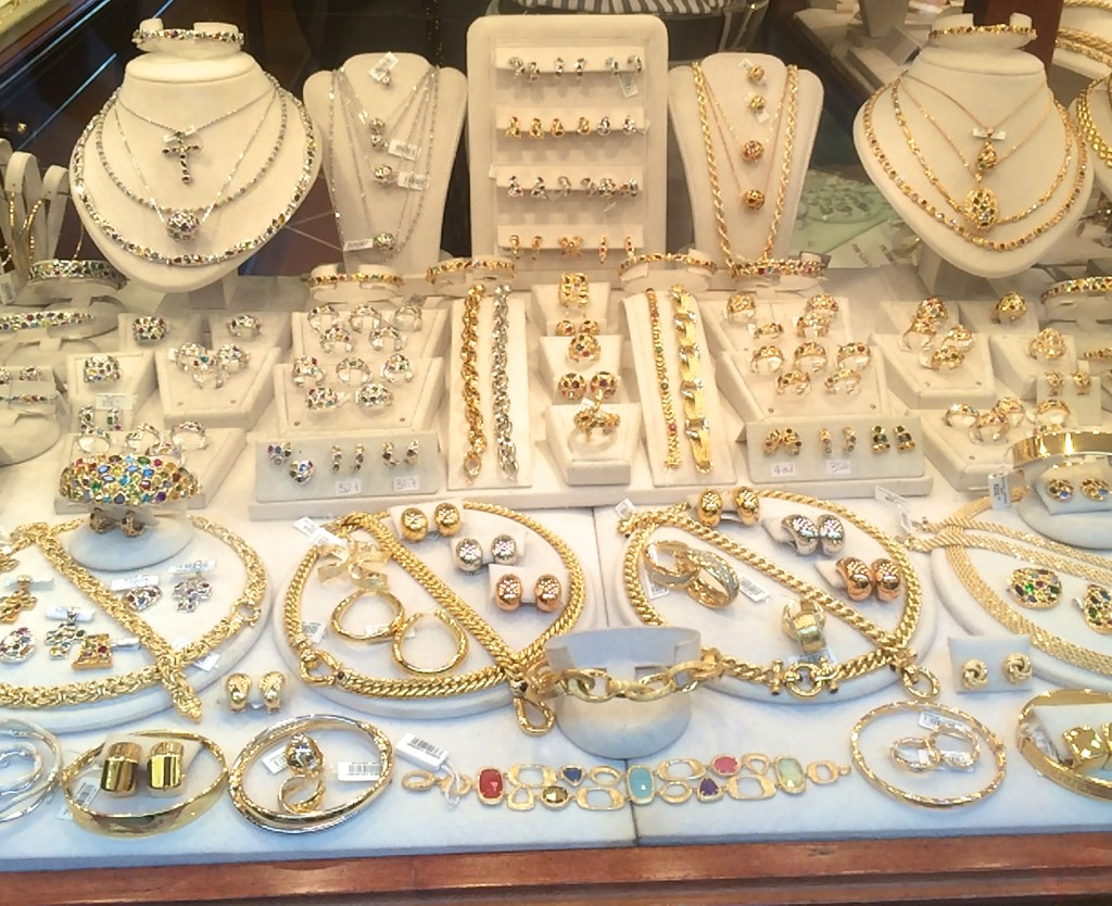 Jewelry shop on the 'Old Bridge""