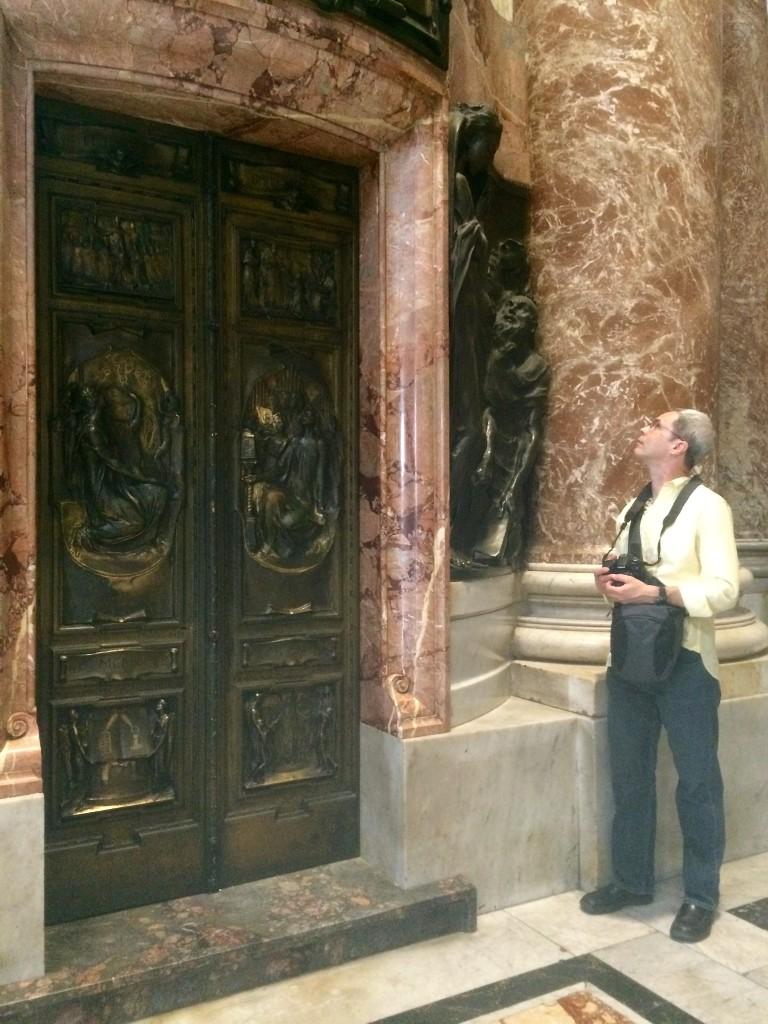 Inside St. Peter's Basilica