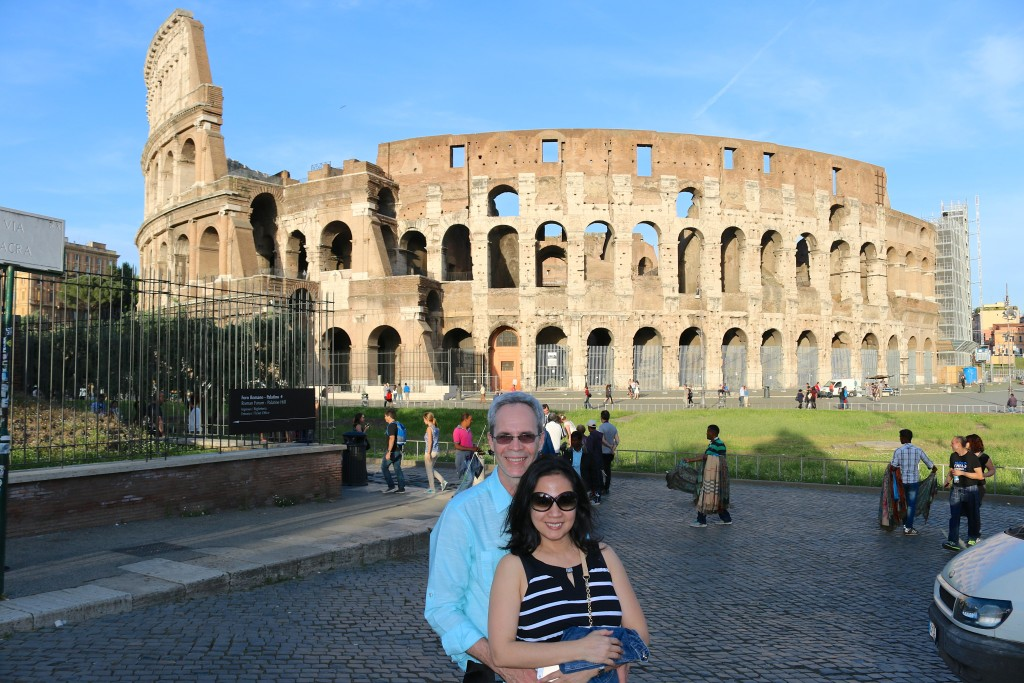 Back in Rome