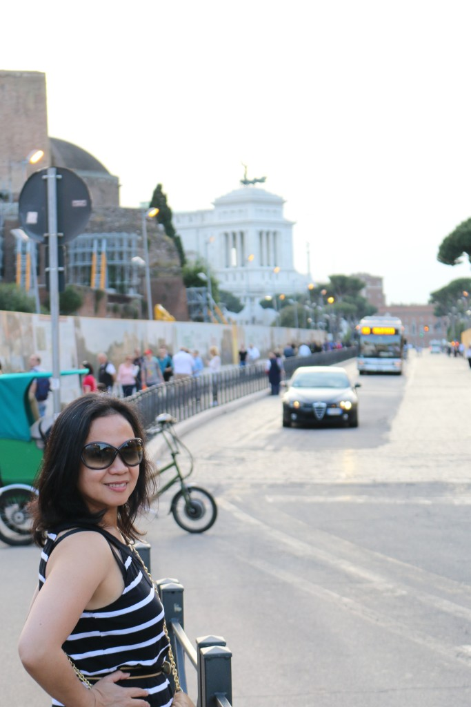 Our 1st day in Rome