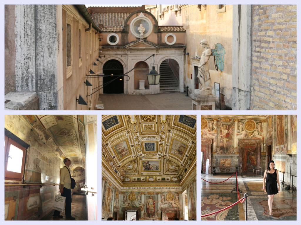 Inside Castel S'antAngelo