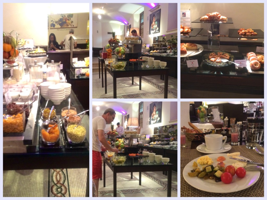 Breakfast at the Sofitel in Rome