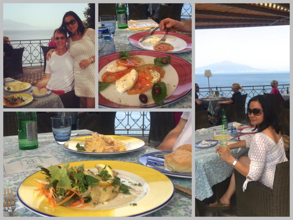 Lunch at Hotel Ambasciatori